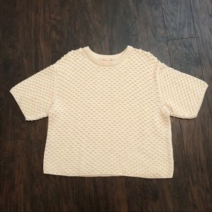 Tory Burch Bubble Top Size XL Creme colored